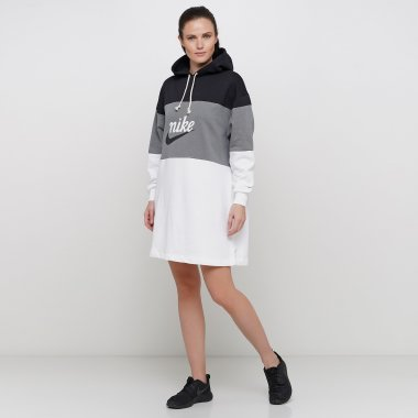 Платья и Юбки nike W Nsw Vrsty Hoodie Dress Ft - 123905, фото 1 - интернет-магазин MEGASPORT