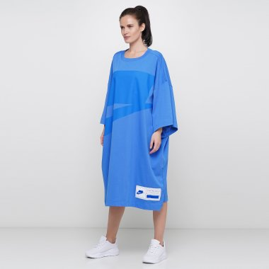 Платья nike W Nsw Nsw Dress Ss Oversize - 123914, фото 1 - интернет-магазин MEGASPORT