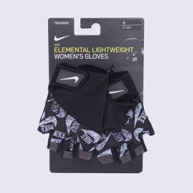 Women's Printed Gym Elemental Fitness Gloves