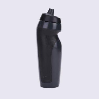 Аксессуары для тренировок nike Sport Water Bottle  Anthracite,Black - 114919, фото 1 - интернет-магазин MEGASPORT