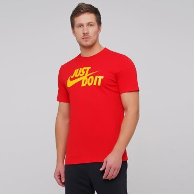 Футболки nike M Nsw Tee Just Do It Swoosh - 127540, фото 1 - интернет-магазин MEGASPORT