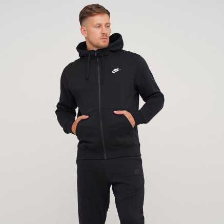 Кофта Nike M Nsw Club Hoodie Fz Bb - 119273, фото 1 - интернет-магазин MEGASPORT