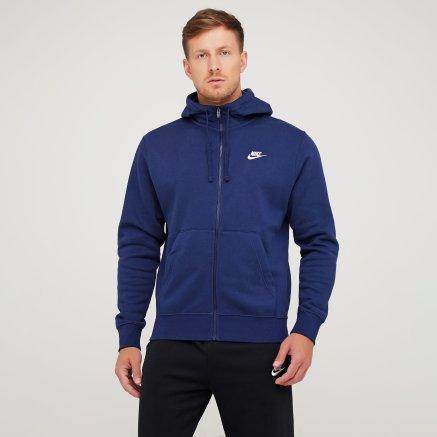 Кофта Nike M Nsw Club Hoodie Fz Bb - 119274, фото 1 - интернет-магазин MEGASPORT