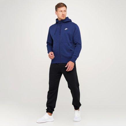 Кофта Nike M Nsw Club Hoodie Fz Bb - 119274, фото 2 - интернет-магазин MEGASPORT