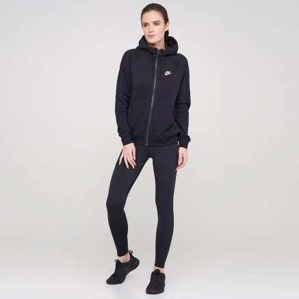 Кофта Nike W Nsw Essntl Hoodie Fz Flc - 119318, фото 2 - интернет-магазин MEGASPORT