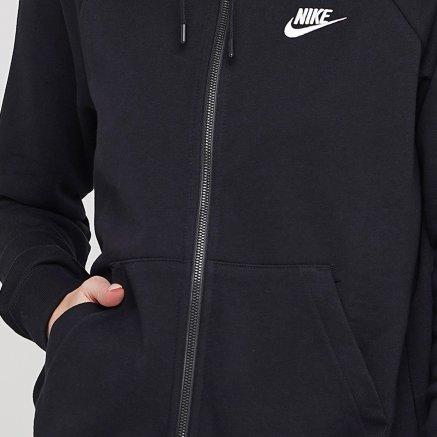 Кофта Nike W Nsw Essntl Hoodie Fz Flc - 119318, фото 4 - интернет-магазин MEGASPORT