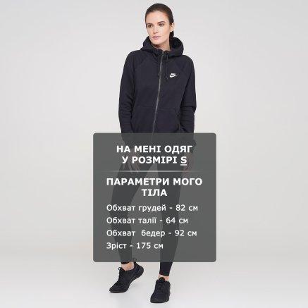 Кофта Nike W Nsw Essntl Hoodie Fz Flc - 119318, фото 6 - интернет-магазин MEGASPORT