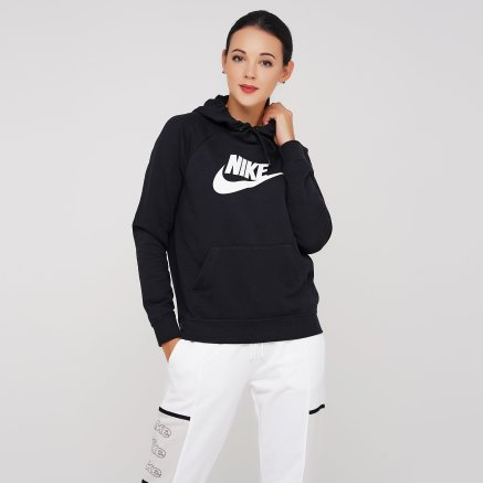 Кофта Nike W Nsw Essntl Hoodie Po Flc Hbr - 119320, фото 1 - интернет-магазин MEGASPORT