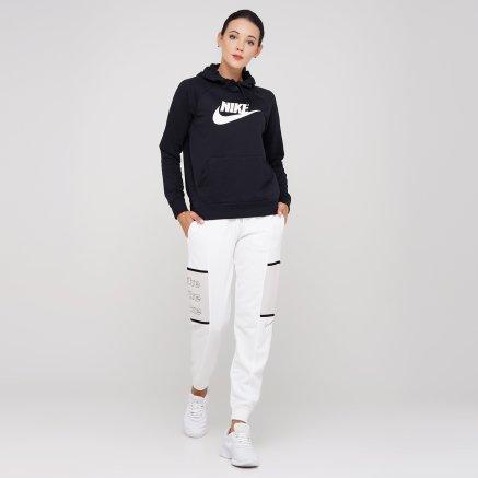Кофта Nike W Nsw Essntl Hoodie Po Flc Hbr - 119320, фото 2 - интернет-магазин MEGASPORT