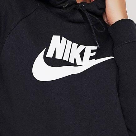 Кофта Nike W Nsw Essntl Hoodie Po Flc Hbr - 119320, фото 4 - интернет-магазин MEGASPORT