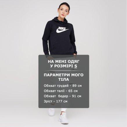 Кофта Nike W Nsw Essntl Hoodie Po Flc Hbr - 119320, фото 6 - интернет-магазин MEGASPORT