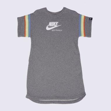 Платья и Юбки nike G Nsw Heritage Ss Dress - 125159, фото 1 - интернет-магазин MEGASPORT