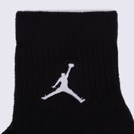 Носки Nike Unisex Jordan Jumpman High-Intensity Quarter Sock (3 Pair) - 106650, фото 2 - интернет-магазин MEGASPORT