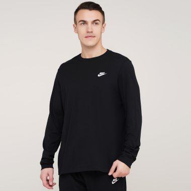 Кофти nike M Nsw Club Tee - Ls - 121945, фото 1 - інтернет-магазин MEGASPORT