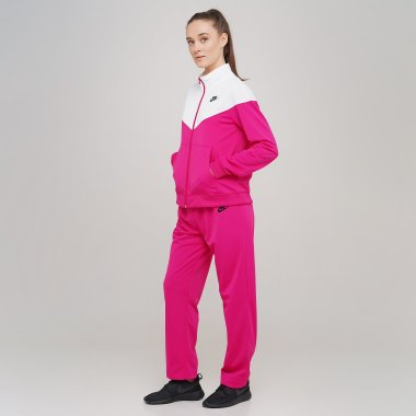 Спортивные костюмы nike W Nsw Trk Suit Pk - 128693, фото 1 - интернет-магазин MEGASPORT