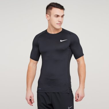 Футболки nike M Np Top Ss Tight - 123932, фото 1 - интернет-магазин MEGASPORT