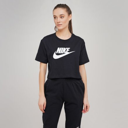 Футболка Nike W Nsw Tee Essntl Crp Icn Ftra - 114860, фото 1 - інтернет-магазин MEGASPORT