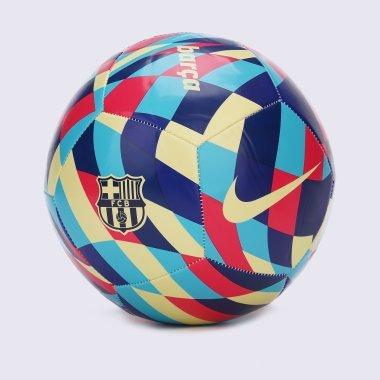 М'ячі nike Fc Barcelona Pitch - 128988, фото 1 - інтернет-магазин MEGASPORT