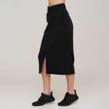 Спідниці nike W Nsw Tch Flc Skirt - 128927, фото 1 - інтернет-магазин MEGASPORT