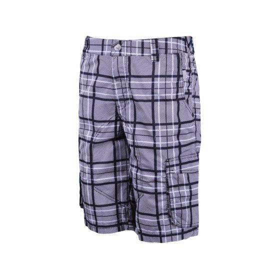 Шорти Puma Mens Checked Cargo Shorts - фото