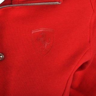 Кофта Puma Ferrari Sweat Jacket - фото 3