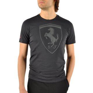 Футболка Puma Ferrari Big Shield Tee - фото 4