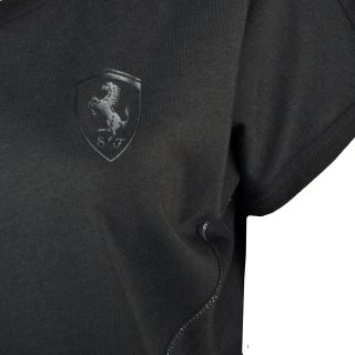 Футболка Puma Ferrari Small Shield Tee - фото 4
