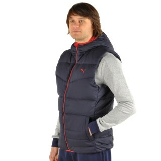 Куртка-жилет Puma Ess Hooded Down Vest - фото 4