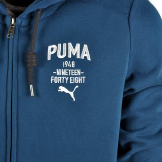 Кофта Puma Style Athl Hd. Sweat Jkt Fl - фото 3