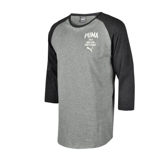 Футболка Puma Style Athl Baseball Tee - фото