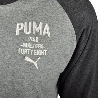 Футболка Puma Style Athl Baseball Tee - фото 3
