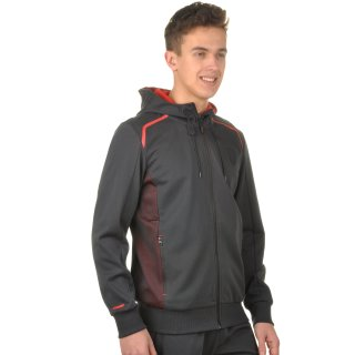 Кофта Puma Ferrari Hooded Sweat Jacket - фото 4