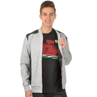 Кофта Puma Ferrari Sweat Jacket - фото 5