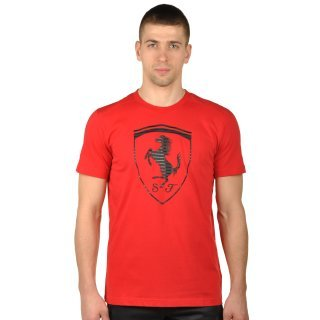 Футболка Puma Ferrari Big Shield Tee - фото 1