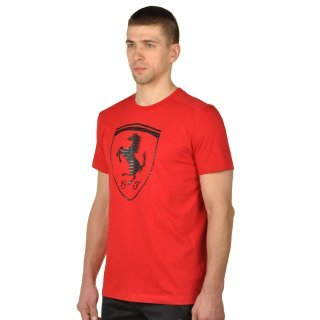 Футболка Puma Ferrari Big Shield Tee - фото 2