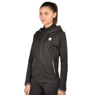 Кофта Puma Ferrari Sweat Jacket - фото 2