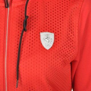 Кофта Puma Ferrari Sweat Jacket - фото 6