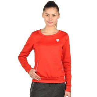 Кофта Puma Ferrari Crew Neck Sweater - фото 1