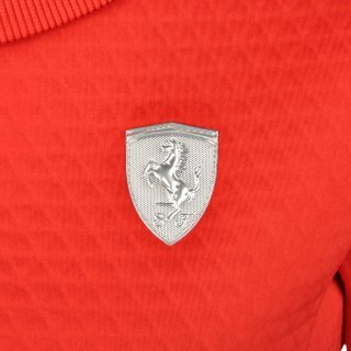 Кофта Puma Ferrari Crew Neck Sweater - фото 5