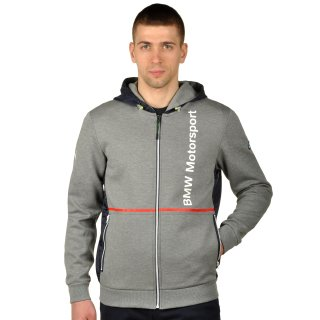 Кофта Puma Bmw Msp Hooded Sweat Jacket - фото 1