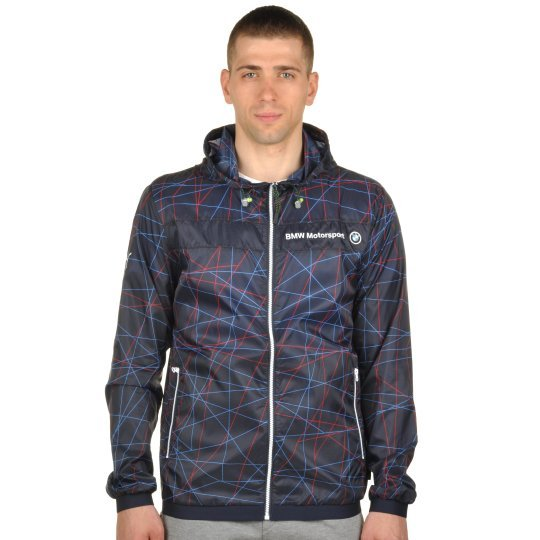 Куртка-вітровка Puma Bmw Msp Lightweight Jacket - фото