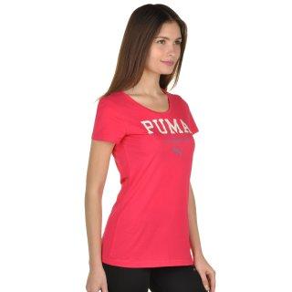 Футболка Puma Style Athl Tee W - фото 4