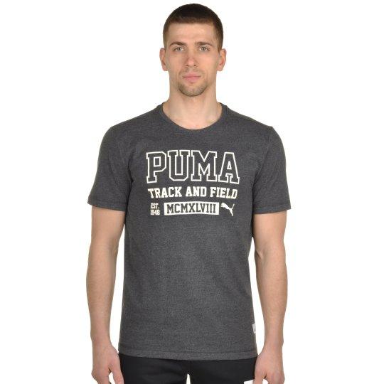 Футболка Puma Style Athl Heather Tee - фото