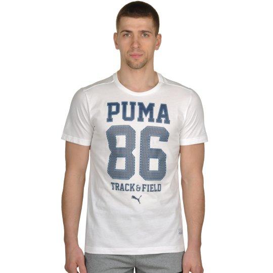 Футболка Puma Style Athl Mesh Block Tee - фото