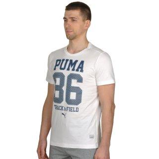 Футболка Puma Style Athl Mesh Block Tee - фото 2