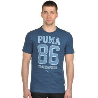 Футболка Puma Style Athl Mesh Block Tee - фото 1