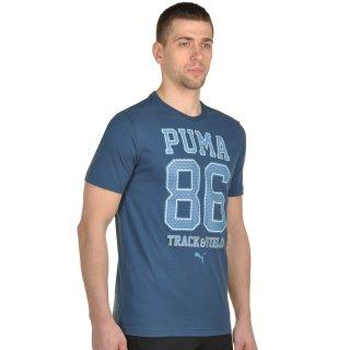 Футболка Puma Style Athl Mesh Block Tee - фото 4