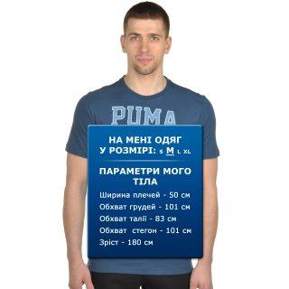 Футболка Puma Style Athl Mesh Block Tee - фото 6