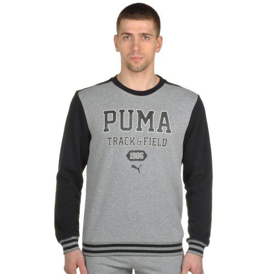 Кофта Puma Style Athl Crew Sweat Tr - фото