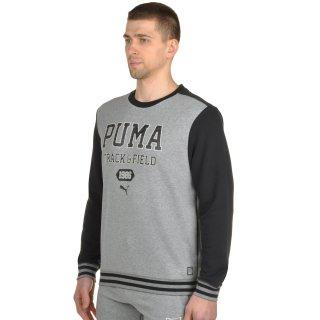 Кофта Puma Style Athl Crew Sweat Tr - фото 2